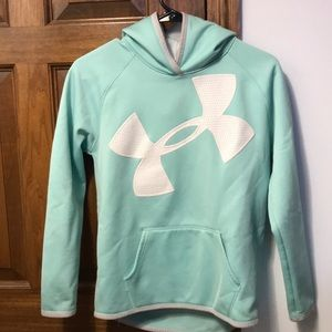 Under armor sweatshirt mint